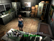 Resident Evil 3 Nemesis screenshot - Uptown - Warehouse office examine 06