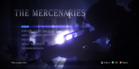 The Mercenaries (Resident Evil 6)