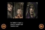 RE4 mobile edition - Rescue Ashley cutscene 5 part 18