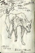 Zombie Dog C concept art 2