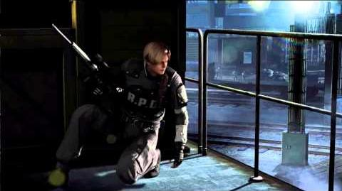 Resident Evil Operation Raccoon City all cutscenes - Claire's trap