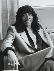 Rick James in Lifestyles of the Rich 1984