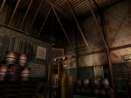 Resident Evil 3 background - Uptown - warehouse r - R1010B