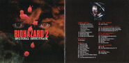 Biohazard 2OST booklet page 1 & 2