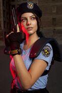 Julia Voth as Jill Valentine 12