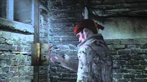 Resident Evil 4 all cutscenes - Chapter 5-1 scene 1