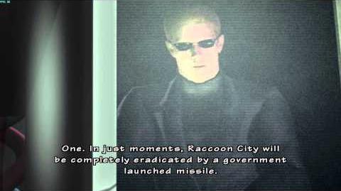 Resident Evil The Umbrella Chronicles all cutscenes - Death's Door 1 scene