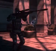 Spectre with Anti-Materiel Rifle