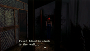 Resident Evil CODE Veronica - square in front of the guillotine - examines 07-2