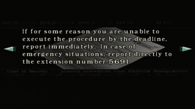 File:Resident Evil files - Mail from the Chief of Security page 6.png