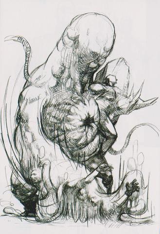 File:BIOHAZARD OUTBREAK FILE 2 GRAND BIBLE - Nyx concept art 1.png