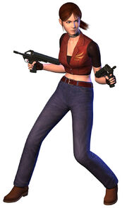 Resident Evil CODE Veronica - Claire Redfield render (front)