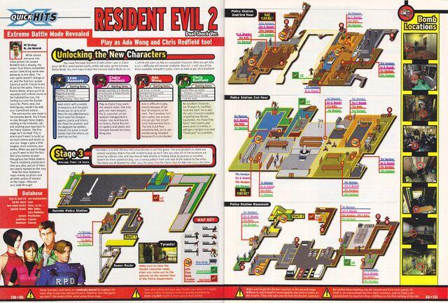File:Resident Evil 2 Dual Shock Ver - Expert Gamer (X Gamer) - November 1998 - p130-131.jpg