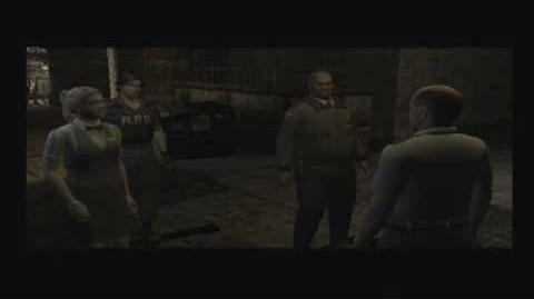 Meeting with Dorian (Resident Evil Outbreak cutscene)