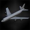 Jumbo jet (lanshiang) diorama