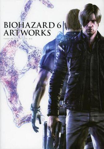 File:BIOHAZARD 6 ARTWORKS - front cover.jpg