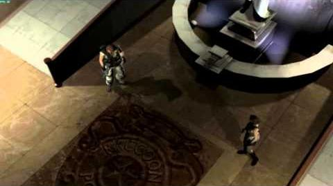 Resident Evil The Umbrella Chronicles all cutscenes - Raccoon's Destruction 3 scene 1