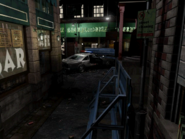 Resident Evil 3 background - Uptown - boulevard j2 - R11E09
