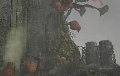 File:Resident Evil Outbreak 2 - Giant Plant.jpg