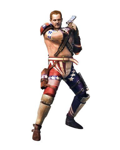 File:Barry's Alternate Costume Resident Evil The Mercenaries 3d.jpg