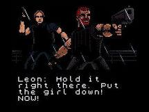 Barry e Leon nella modalità storia