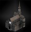 Church (tall oaks) diorama
