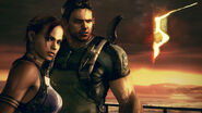 Resident Evil 5 - Sheva and Chris wallpaper 2