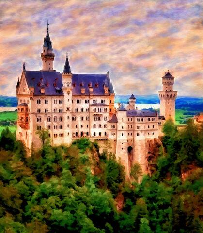 File:Neuschwanstein Castle by Michael Pickett.jpg