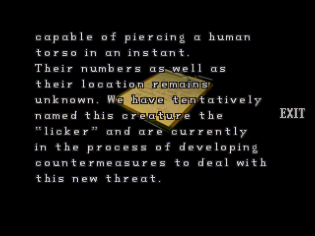 File:RE2 Operation report 1 10.png