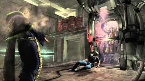 Resident Evil 4 all cutscenes - Chapter 5-4 scene 4
