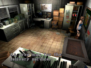 Resident Evil 3 Nemesis screenshot - Uptown - Warehouse office examine 04