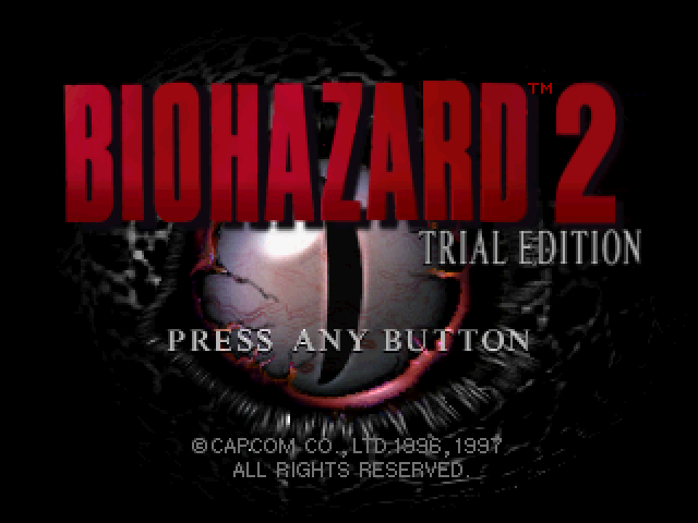 File:RE2 Trial Edition title.png