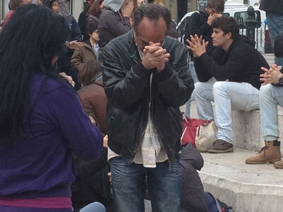 RE6 Praying 2