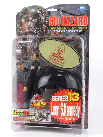 File:BIOHAZARD REAL SHOCK ACTION FIGURE - Leon S. Kennedy (Leather Jacket Ver.) - package.jpg