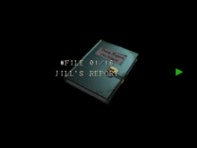 Re264 EX Jill's Report