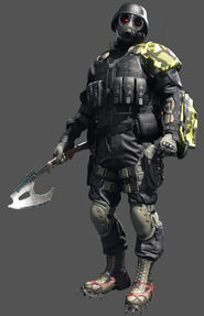 Hunk in Umbrella Corps