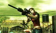 Mercenaries 3D - Claire gameplay 4