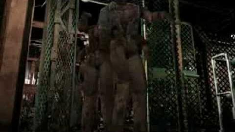 Resident Evil 3 Nemesis cutscenes - Zombies invading the Substation (Out of time)