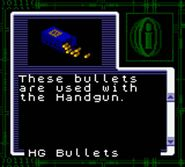 Handgun bullets resident evil gaiden gameboy color