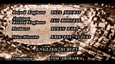 Staffs & Credits (cutscene)
