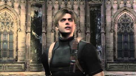 Resident Evil 4 all cutscenes - Chapter 4-1 scene 2