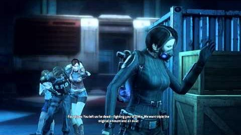 Resident Evil Operation Raccoon City all cutscenes - Against Umbrella (Four Eyes)