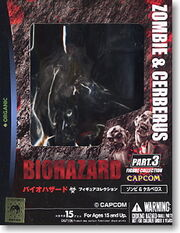 Biohazard Figure Collection - Zombie & Cerberus - box