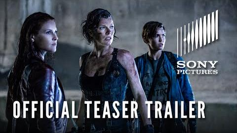 RESIDENT EVIL THE FINAL CHAPTER - Official Teaser Trailer