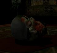 Resident Evil - Kenneth's head render