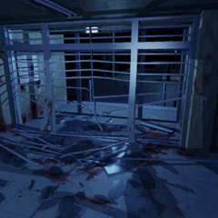 The Lobby (after the security shutter breaks) from the leaked November 1996 build.