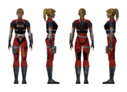 Resident Evil 2 - Elza Walker RPD armor model (damage 1)