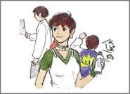 BIO HAZARD - Rebecca Chambers illustration - 02 illust4