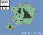 Tellhani Map