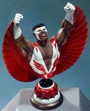 Falcon bust